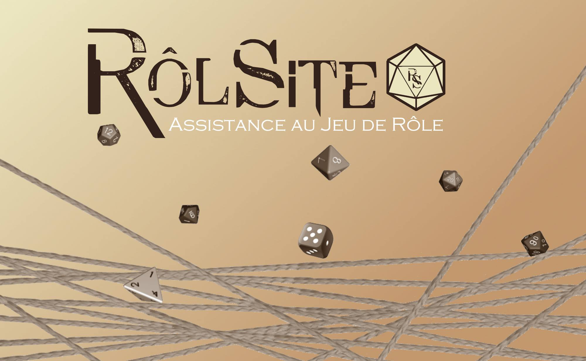 ROLSITE: gérez tranquillement vos tables et campagnes de jeu de rôle!