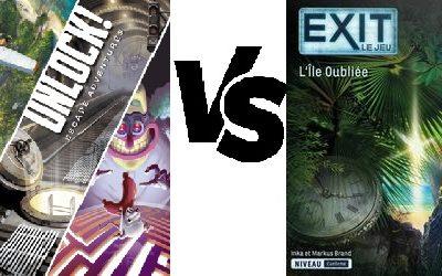 Unlock Versus Exit