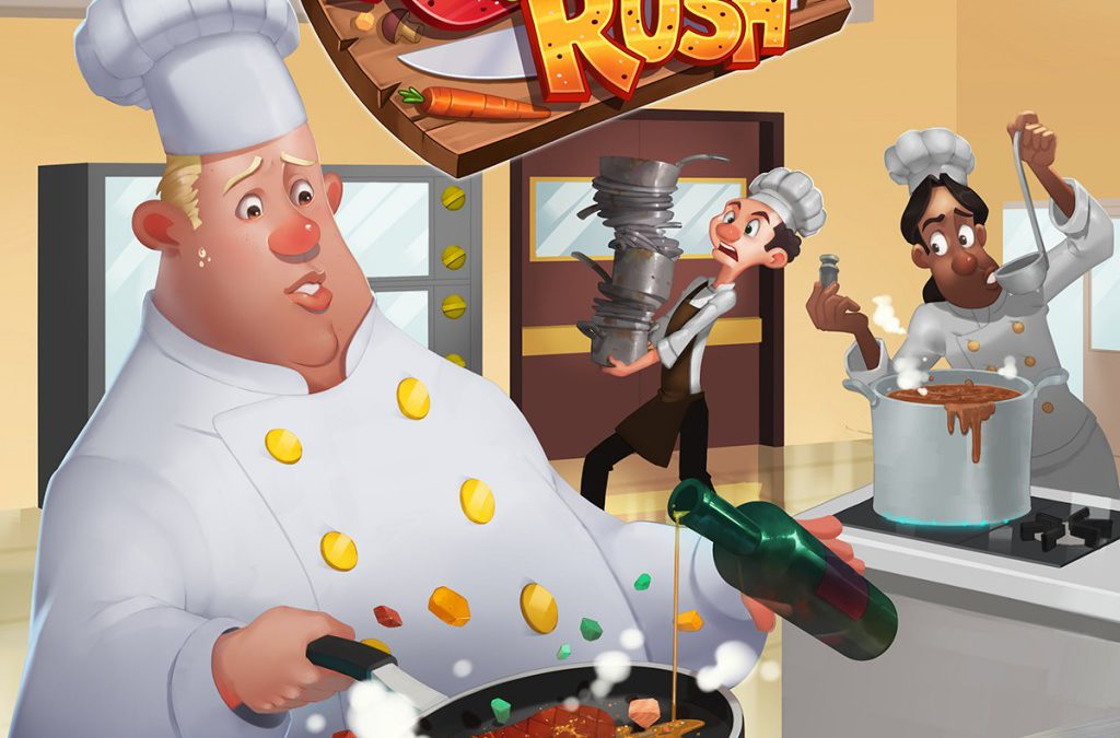 Découverte – Kitchen Rush