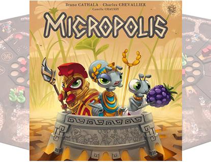 Découverte – Micropolis