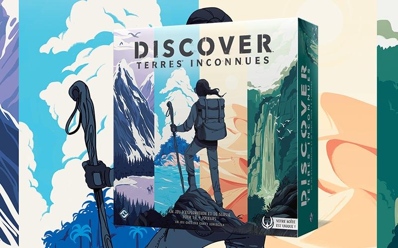 Découverte – Discover: Terres Inconnues
