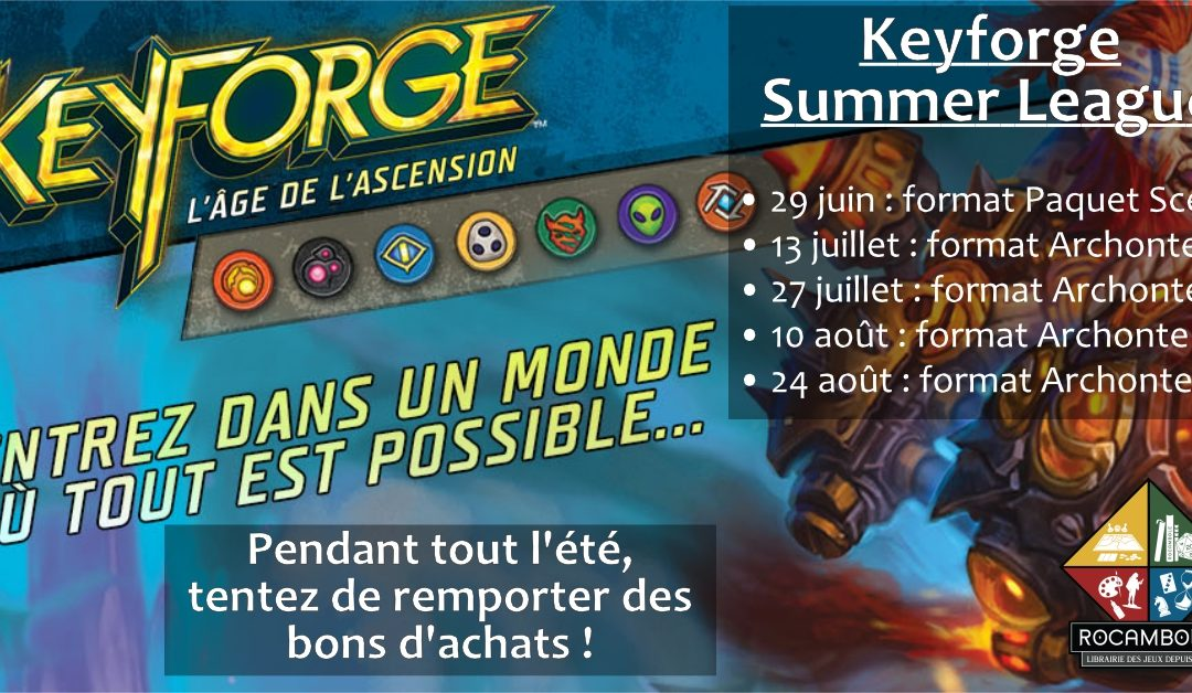 Keyforge Summer League 2019