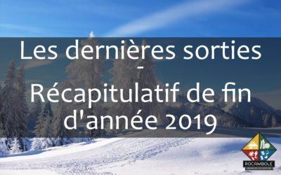 Les Nouveautés – Fin 2019